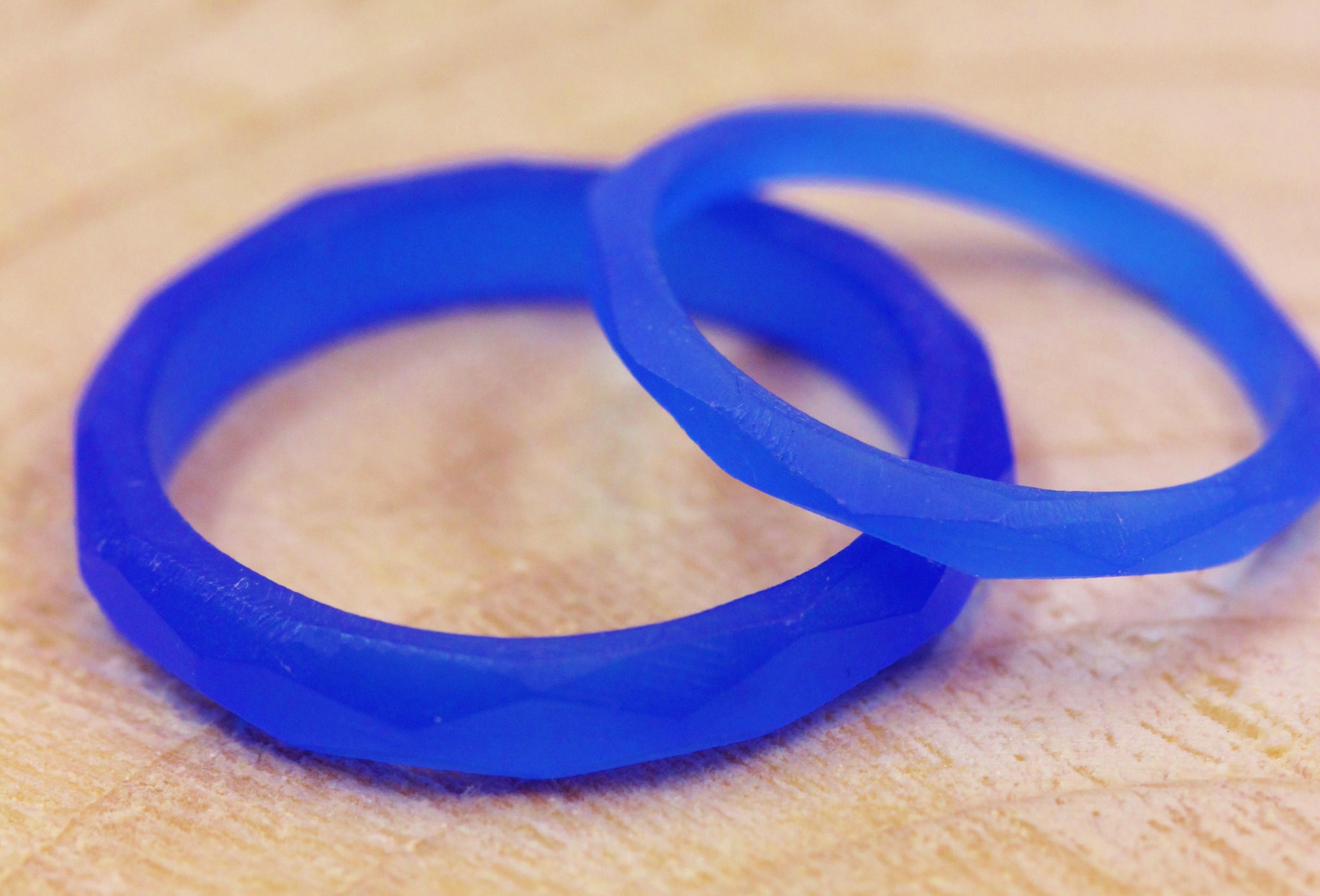 先日お作り頂いた結婚指輪が仕上がってきました(*^▽^*)